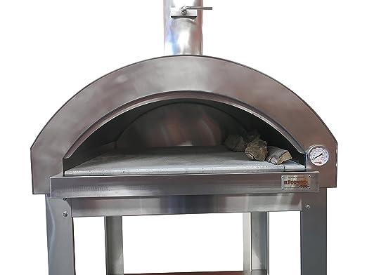 ilfornino grande serie G - Horno de leña para pizzas (acero ...