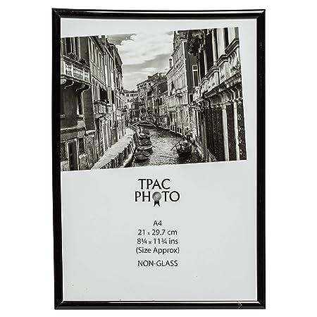 The Photo Album Company 21 X 30 Cm A4 Photo Frame Black Amazonco