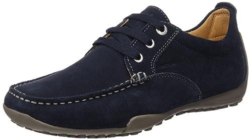 Geox U DRIVE SNAKE N U2202N00022C6006 - Mocasines de cuero para hombre: Amazon.es: Zapatos y complementos