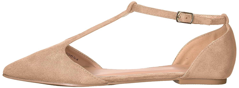 Brinley Co Women's Vylet Ballet US|Nude Flat B01MSMJPRX 7 B(M) US|Nude Ballet 962572