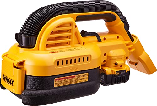 DEWALT 20V MAX Cordless Vacuum Kit, Wet Dry, Portable, 1 2-Gallon DCV517M1