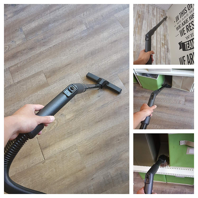 ZVac Compatible Attachment Kit Replacement for Shark Rotator Powered Lift-Away//Shark Rotator Powered Lift-Away TruePet Upright Vacuum Accessories Kit More! Extension Hose Floor Brush