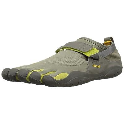 Vibram Men's KSO Grey/Palm/Clay Cross Trainer | Trail Running
