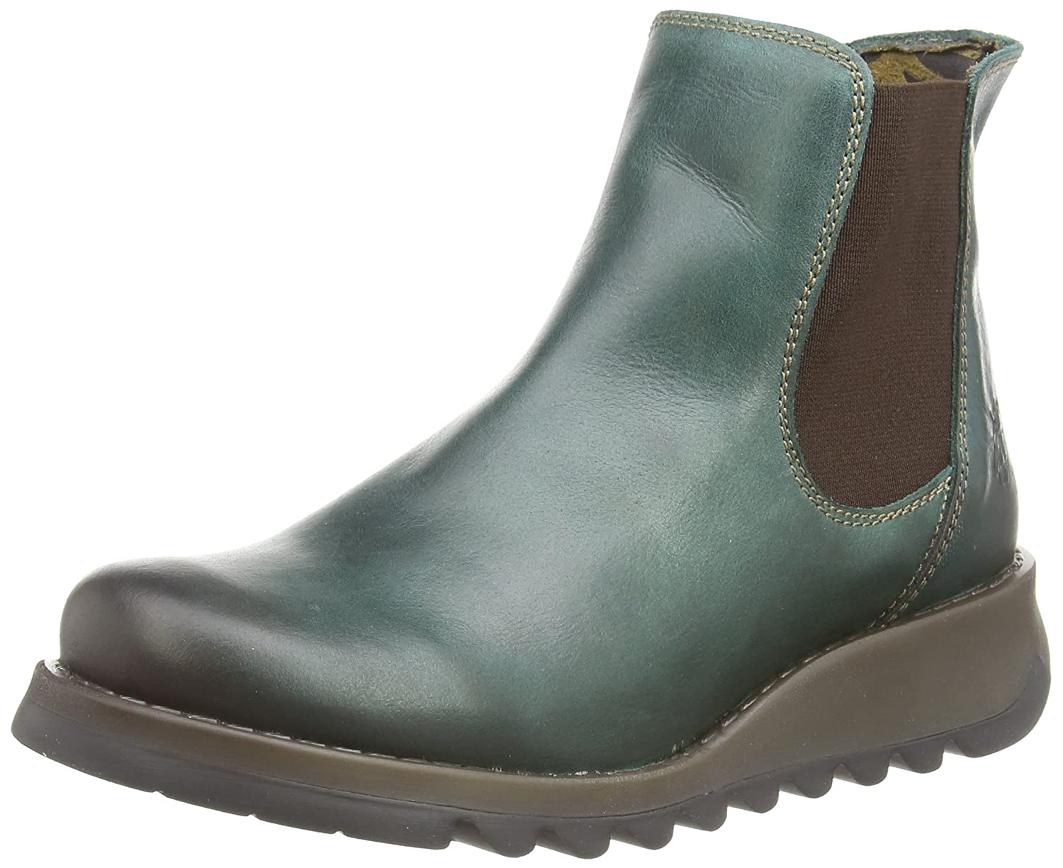FLY London Damen Salv Kurzschaft Stiefel
