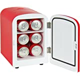 Best Choice Products SKY1591 Portable Mini Fridge Cooler and Warmer (Auto Car Boat Home Office AC & DC Red)