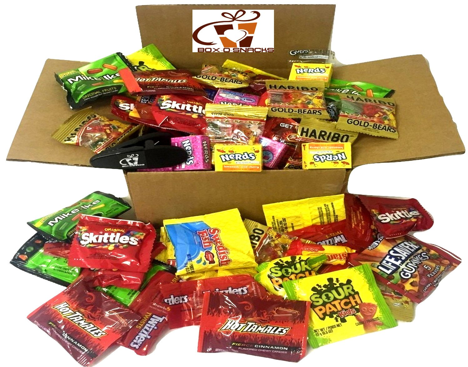 Box-O-Snacks Super Candy Variety Box 3 Pounds of Candy by The Snack Pack Co (Image #1)