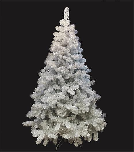 Albero Di Natale Bianco.Albero Di Natale Bianco 210 Cm Abete Natalizio Artificiale Amazon