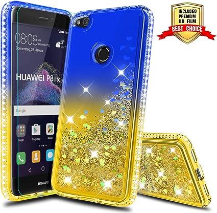 Atump Coque Huawei P8 Lite 2017 avec Protecteur d'écran, Diamant ...