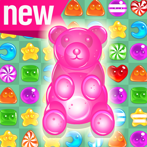 Thomas Candy Cube - Soda Pop! - Candy Gummy Bear Free Match 3 Puzzle Game