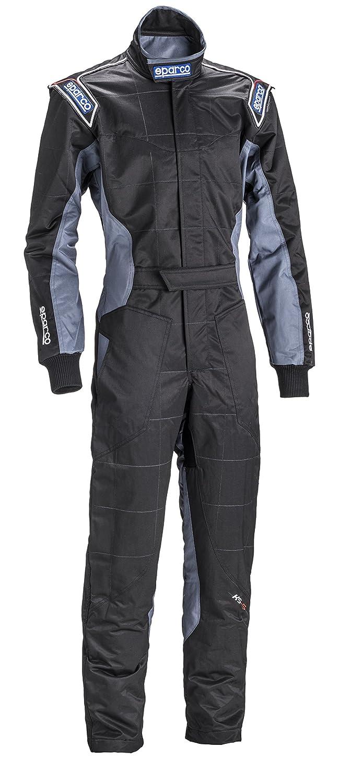 Sparco ks-5 Kartingスーツ(ブラック/グレー/イエロー、サイズ120 )B00N4XG0MC--