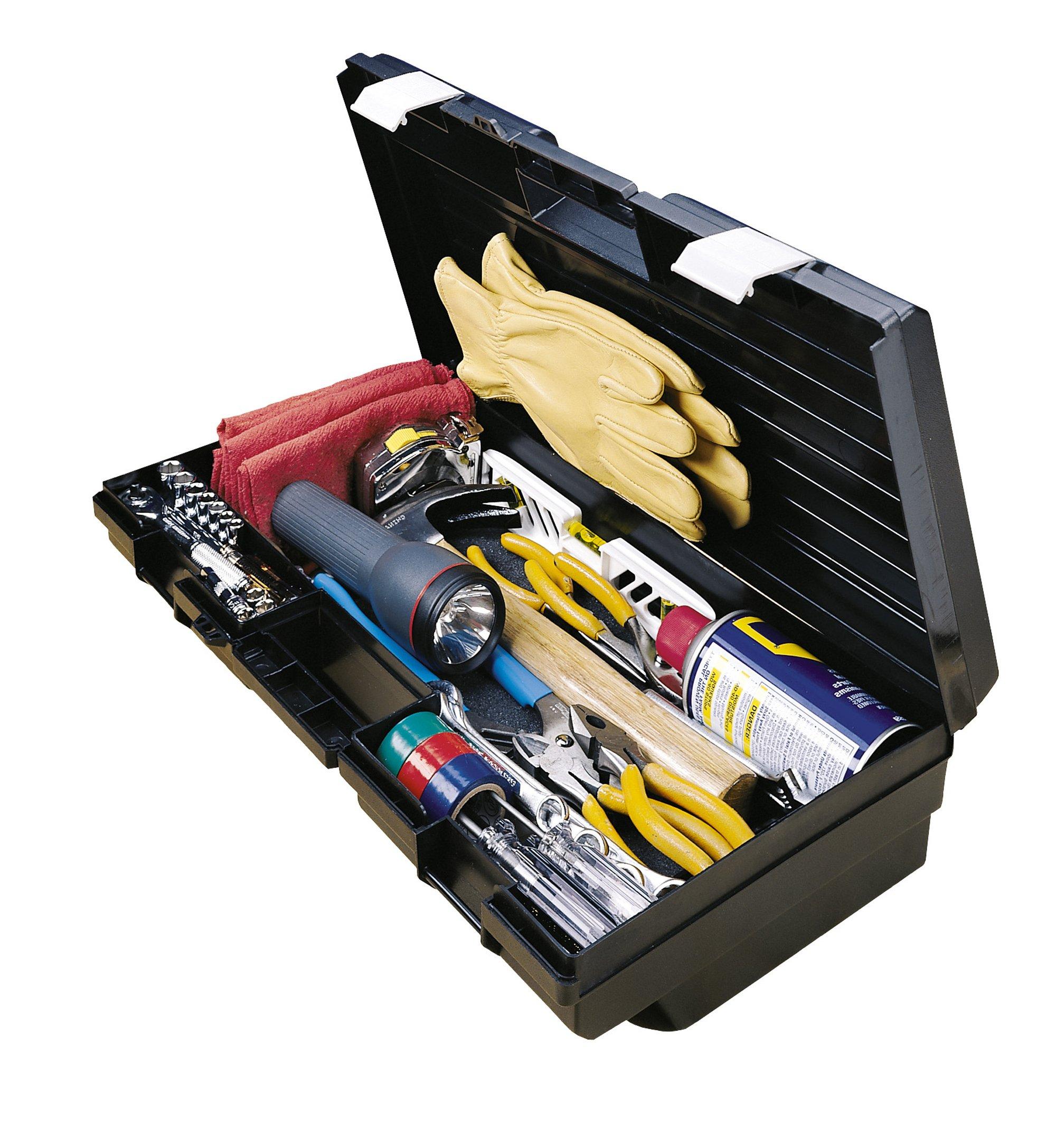 Stack-On RB-19N 19-Inch Multi-Purpose Slim Line Tool Box, Black