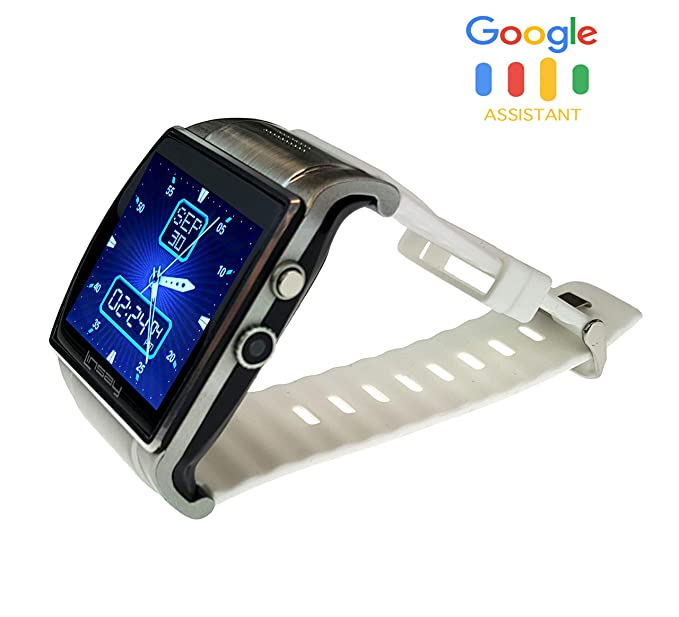 Amazon.com: LINSAY Executive Smart Watch with Camera - White ...