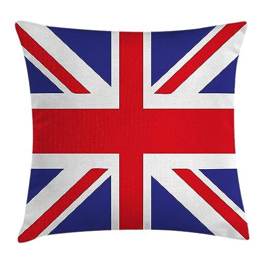 Fundas para Almohada Union Jack Classic Traditional Flag ...