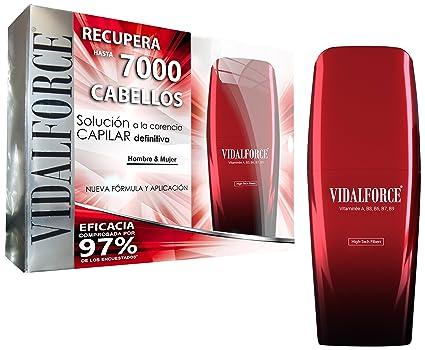 VidalForce Fibras Capilares Negro 40 gr Engrosador y voluminizador de cabello