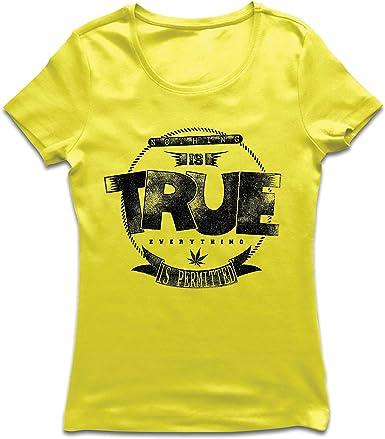 lepni.me Camiseta Mujer Nada es Cierto, Todo está Permitido ...