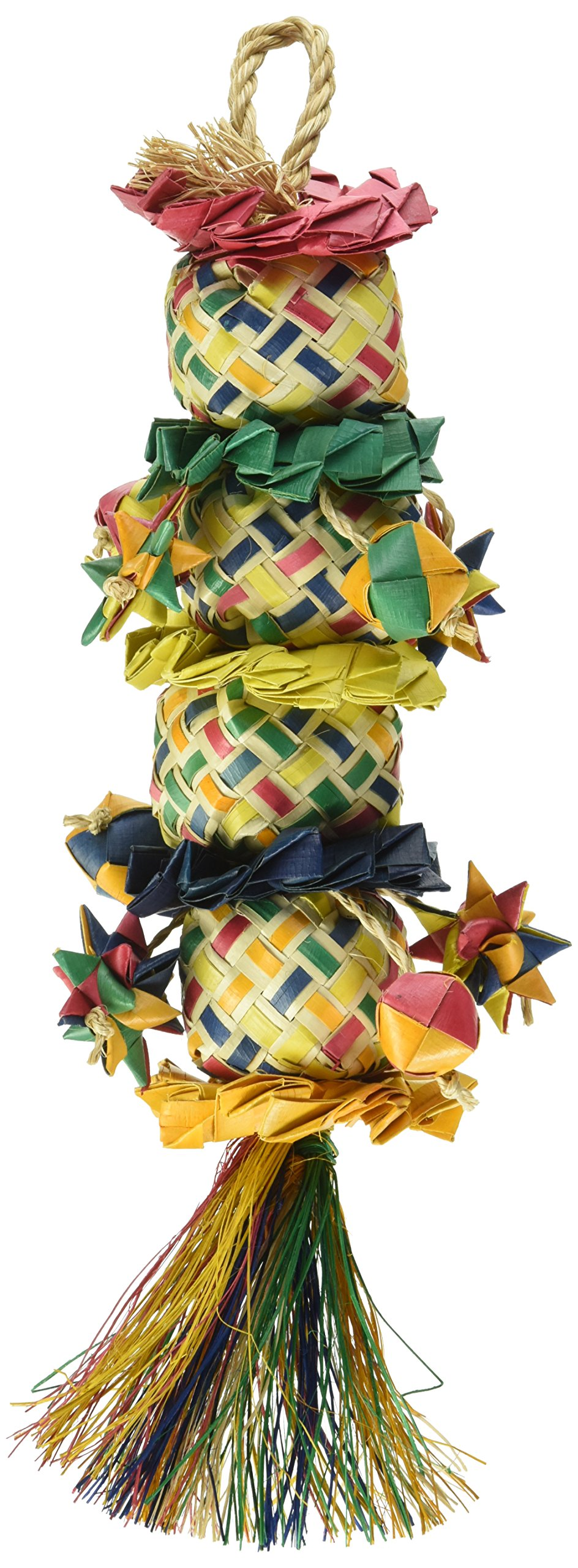 Planet Pleasures Flower Tower Bird Toy, Medium