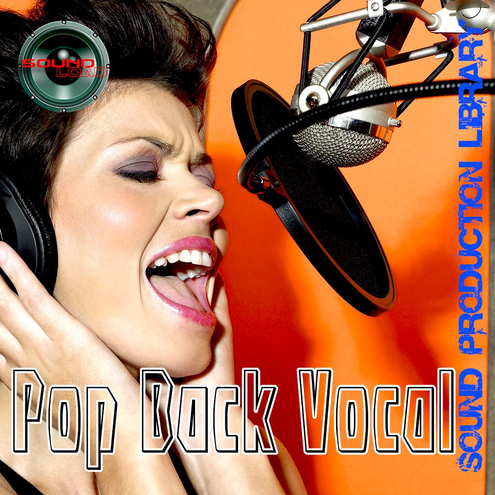 Pop Back Vocal - Large unique 24bit WAVE/KONTAKT Multi-Layer Studio Samples Production Library on DVD or download