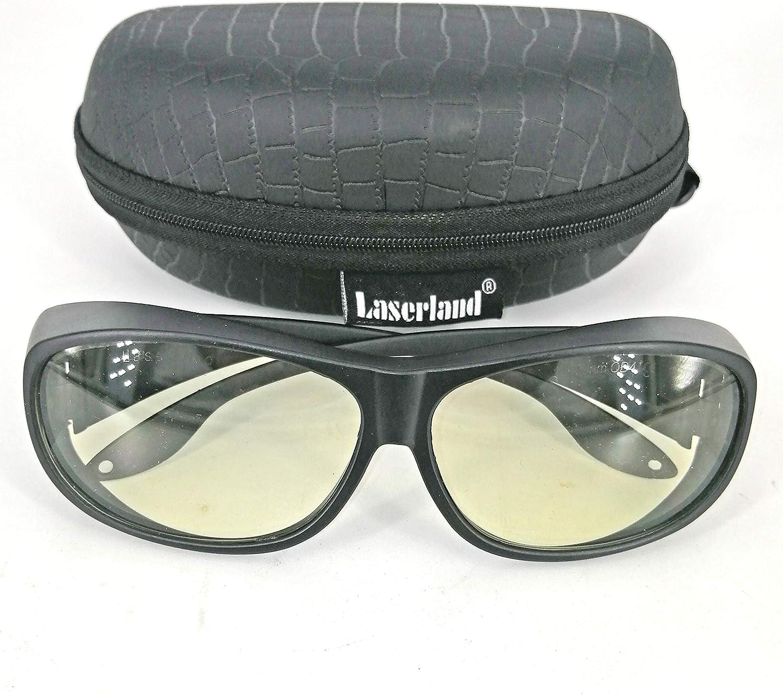 Gafas de protección láser CO2 10600 nm longitud de onda gafas protectoras láser de dióxido de carbono láser gafas de protección laboral eliminación de tatuajes YAG gafas de sol protección