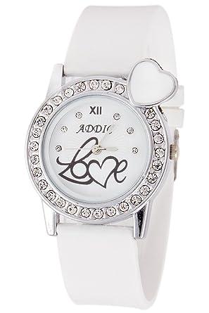 a66a2c20e Buy Addic Analogue White Dial Watch for Women