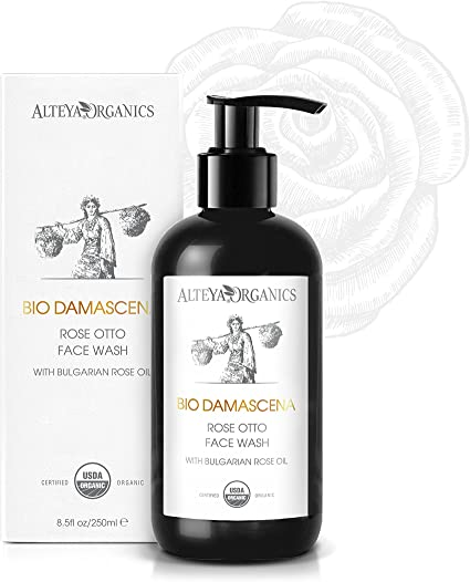 Alteya Organic jabón para lavado facial 250 ml – USDA certificado ...