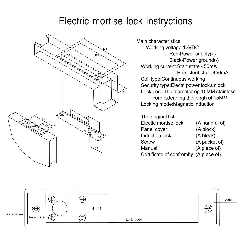 Modern Electric Strike Wiring Diagram Model - Electrical System ...