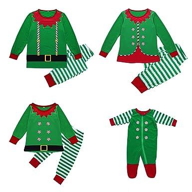K-youth Conjunto de Familiares Ropa De Dormir Pijama de Navidad ...