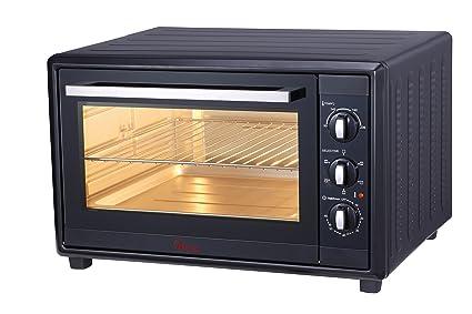 Ardes AR6220B Forno Elettrico Ventilato Gustavo Black 20 Litri 6 Funzioni Cottura Doppio Vetro con Accessori Nero 1380 W