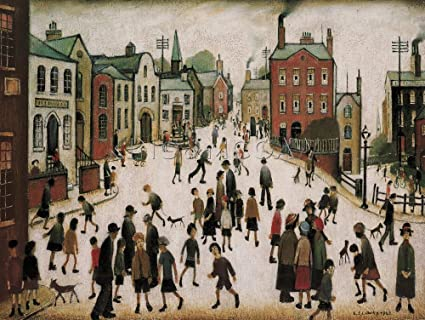 0a50781de69 LS Lowry Art Print