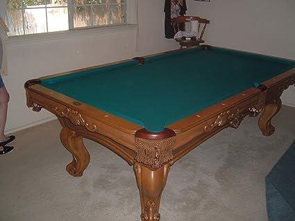Amazoncom OLHAUSEN Brunswick Ft Pool TableCustomordered - Handmade pool table