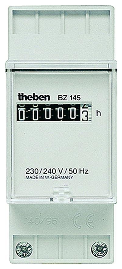Theben bz145 - Cuenta horas sin retorno a cero 2 módulos din