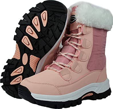 Women/'s Warming Boots Winter Plush Fur Outdoor Casual Shoes Durable Footwear New