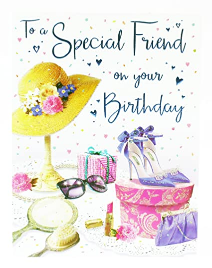 Tarjeta de felicitación de cumpleaños para un amigo especial ...