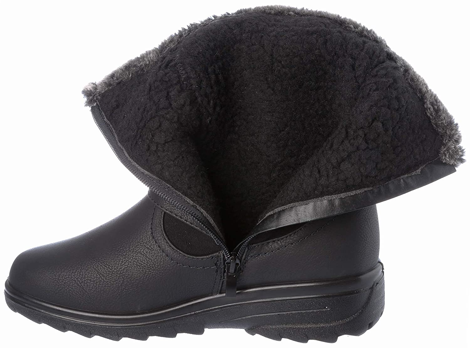 ace Womens Winter Boots Fur Lining Cold-Weather Shoes