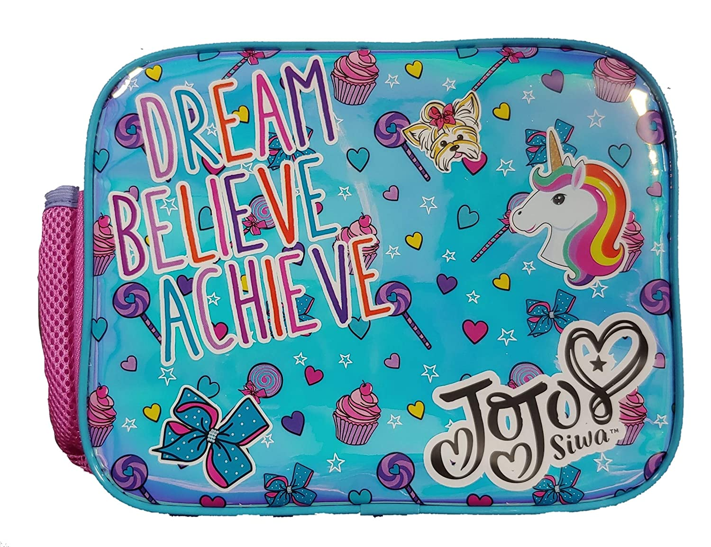 Believe Achieve Lunch Tote Nickelodeon Jojo Siwa Dream