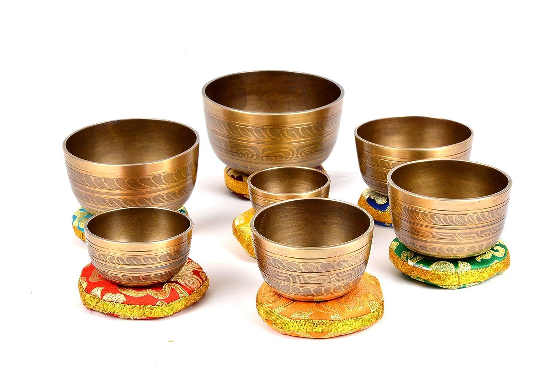 Conjunto tibetano de 7 tablillas de meditación Chakra para ...