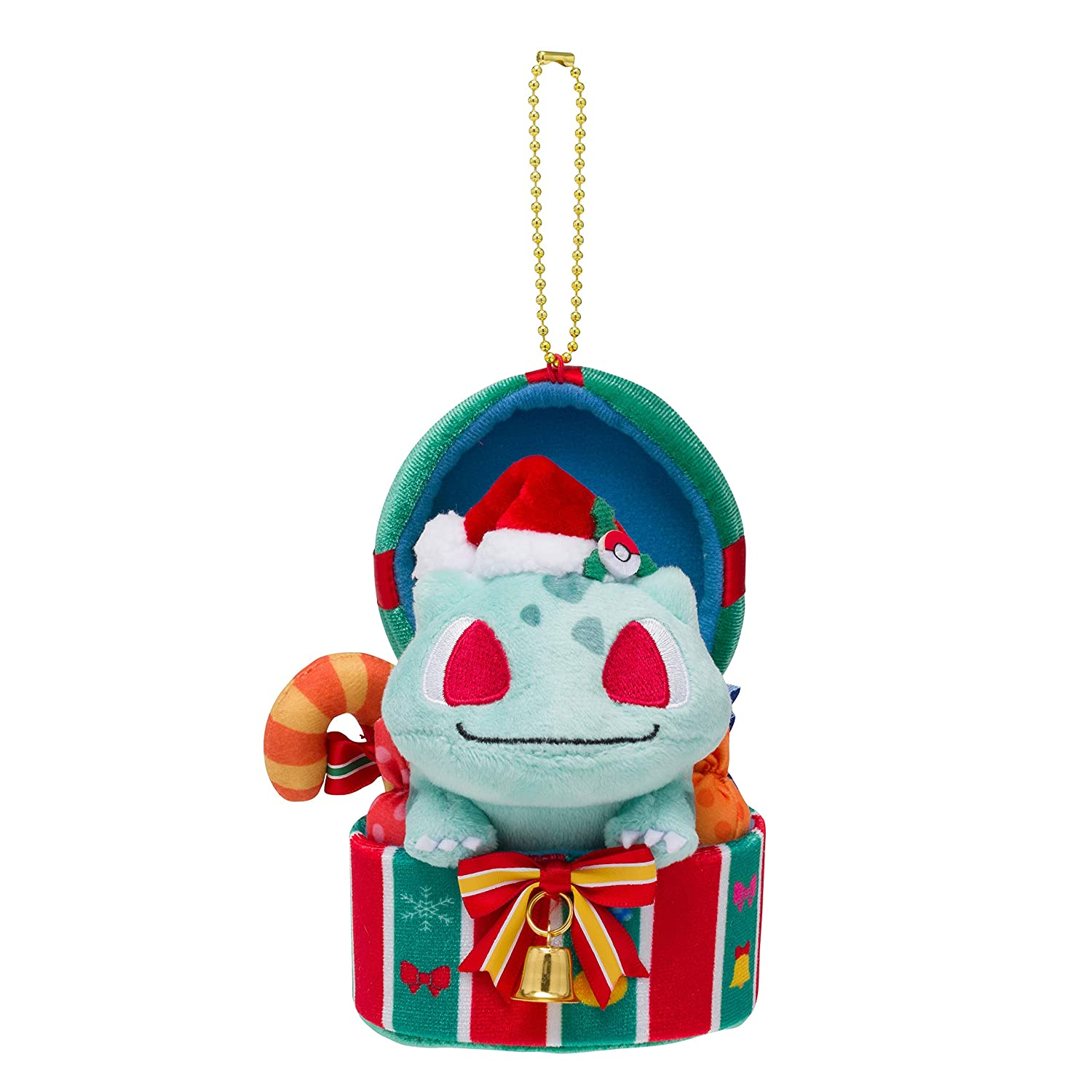 Image result for christmas bulbasaur plush