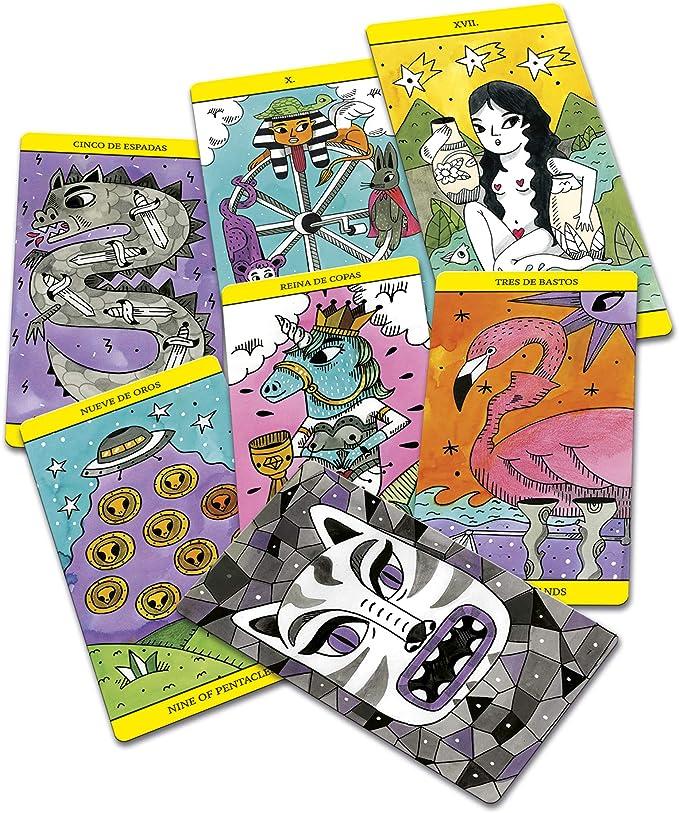 Fournier Magic by Amaia Arrazola Baraja de Cartas del Tarot de ...