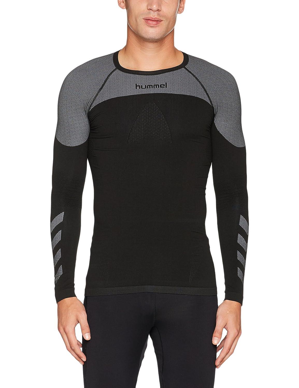 Hummel Función Camiseta Jersey Manga larga - First Comfort SS - Camiseta de entrenamiento para hombre Gran Libertad de movimientos - Camiseta deportiva ...