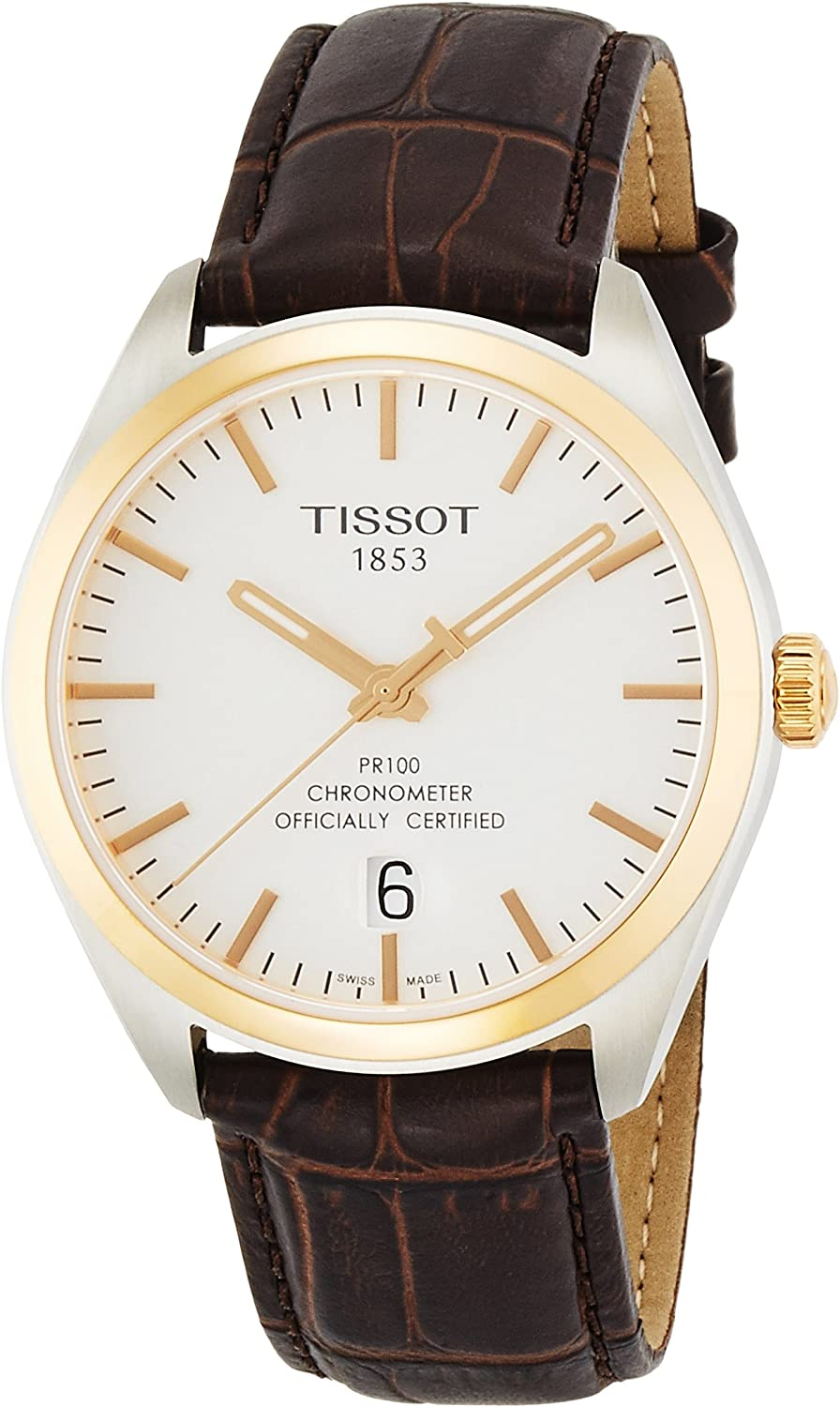 Tissot PR100 Leather Mens Watch T1014512603100