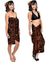 1 World Sarongs Womens Premium Celtic Circles Sarong in your choice of color