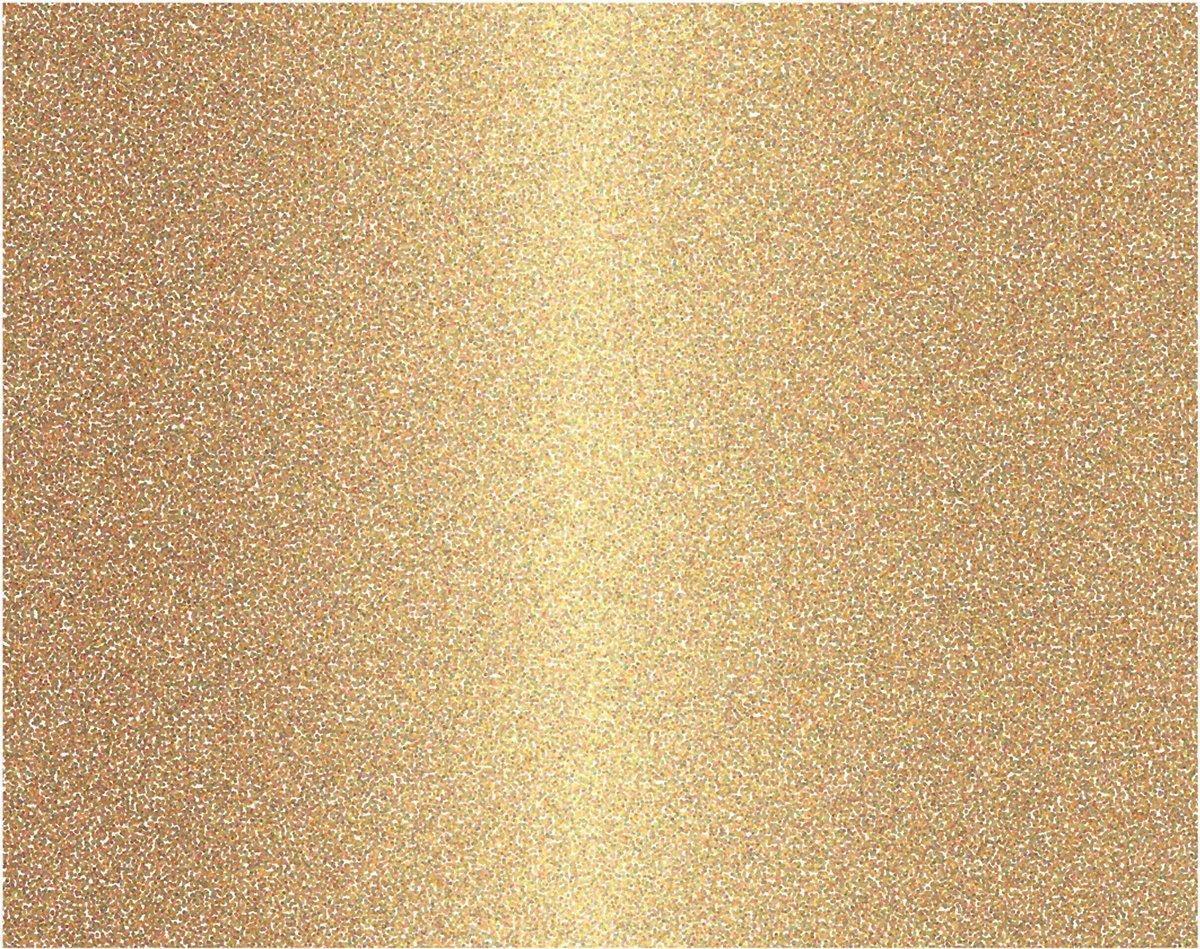 American Crafts 378916 Gold Glitter Poster Board,