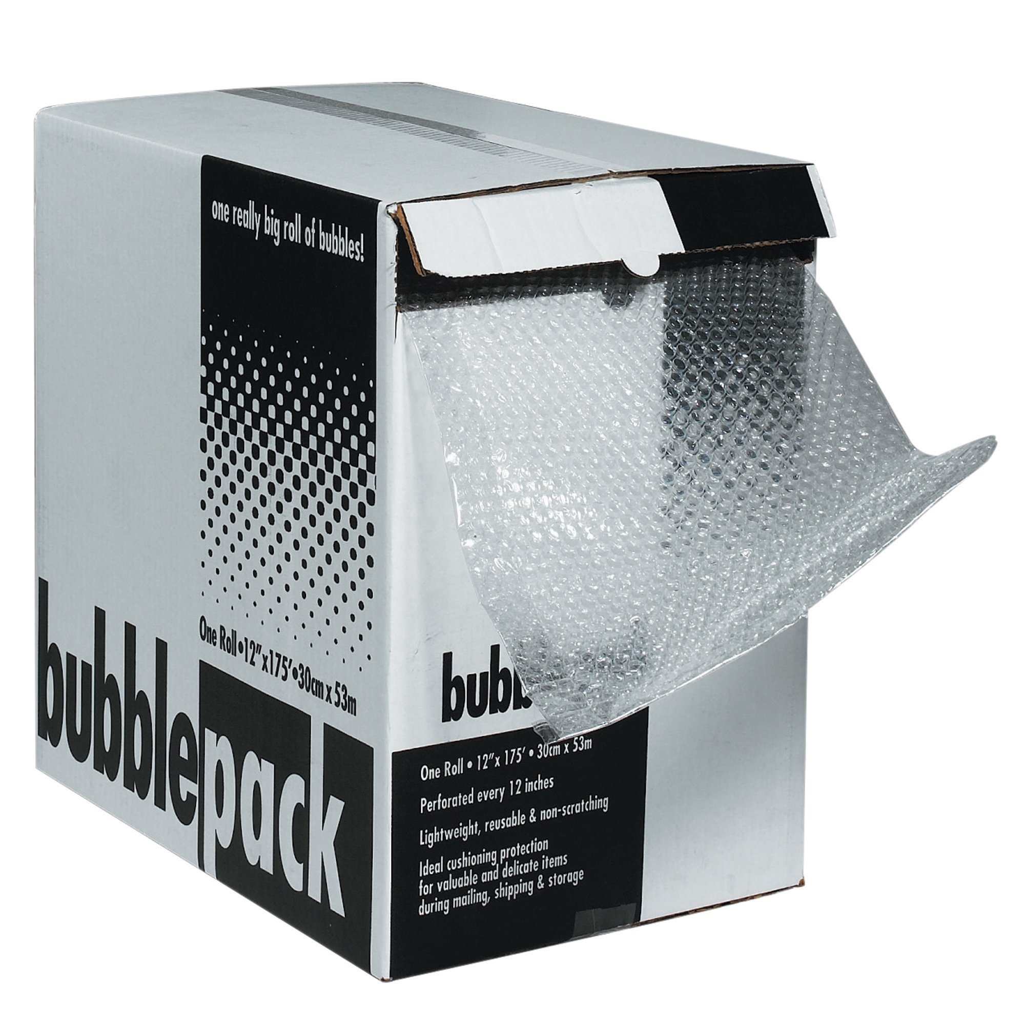 Top Pack Supply Bubble Dispenser Pack, 3/16'' x 24'' x 175', Clear (Pack of 1)
