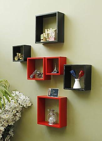 Onlineshoppee Home Decor Premium Shelf Rack Wall Bracket Handicraft