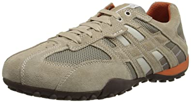 d3c9d3e821 Geox Men's Uomo Snake K Low-Top Trainers: Amazon.co.uk: Shoes & Bags