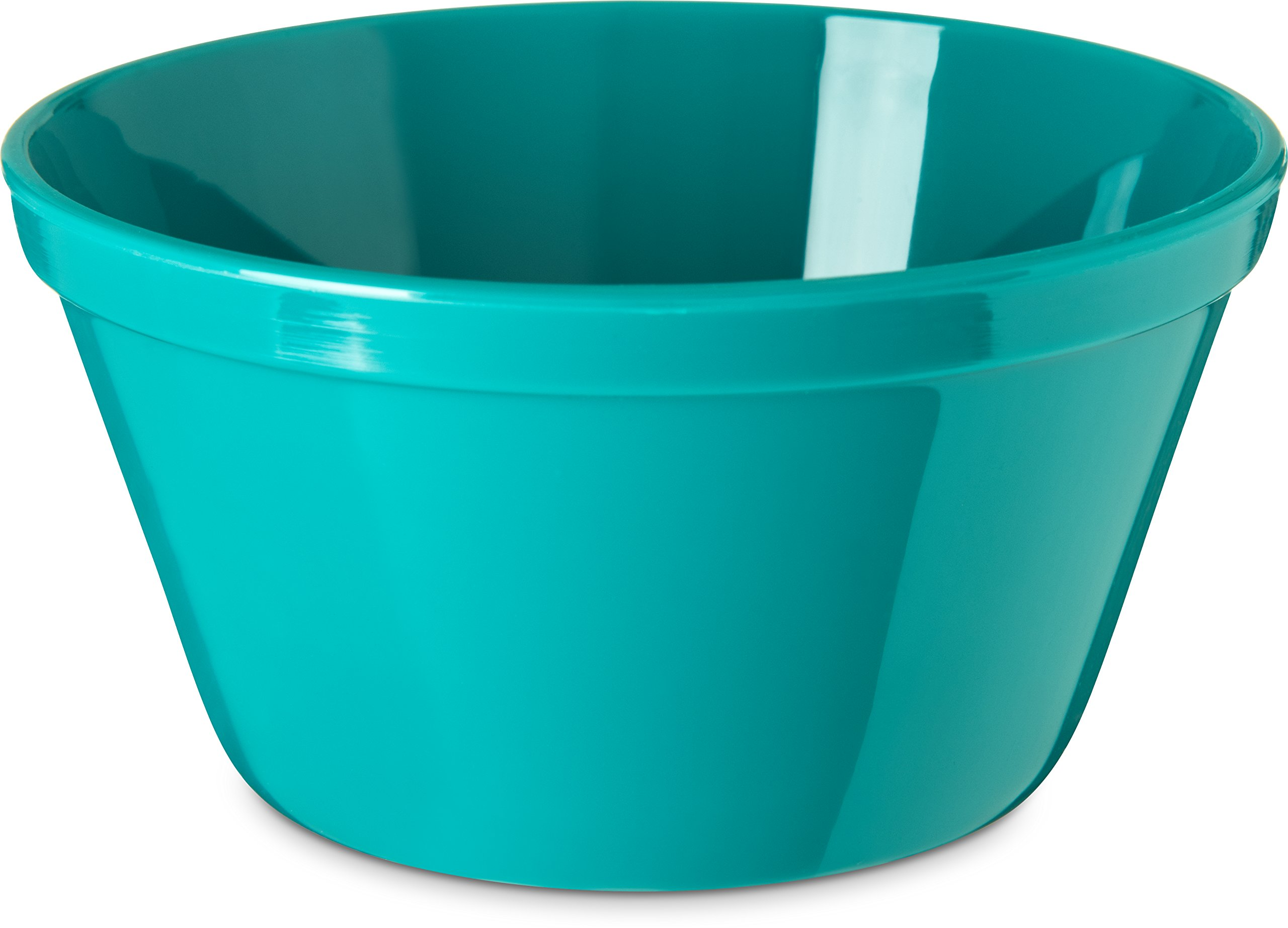 Carlisle PCD30815 Long-Life Polycarbonate Rimmed Bouillon Cups, 8 Oz., Teal (Pack of 48)
