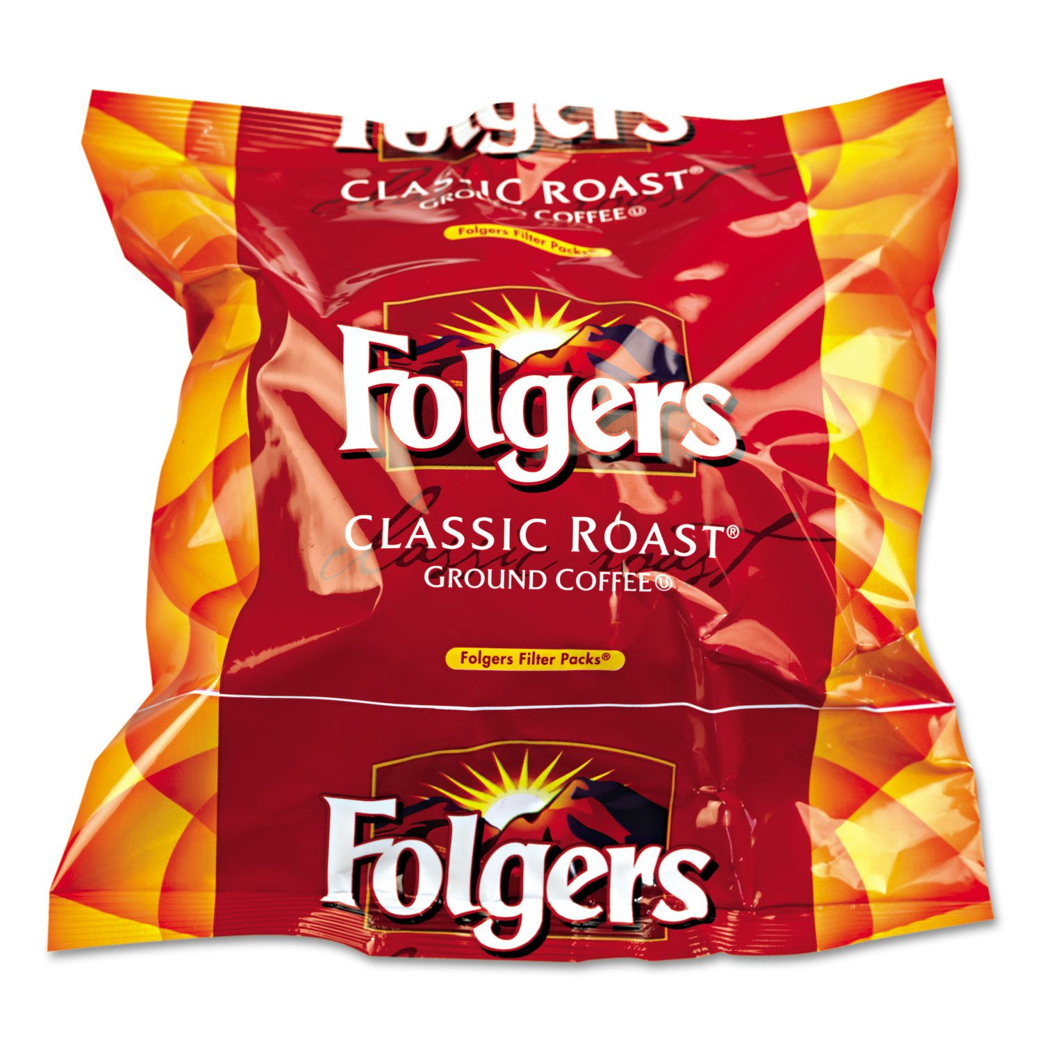FOL06114 - Folgers Regular Coffee Filter Pack, .9 Ounce by Folgers
