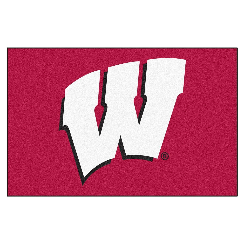 University of Wisconsin Logo Area Rug