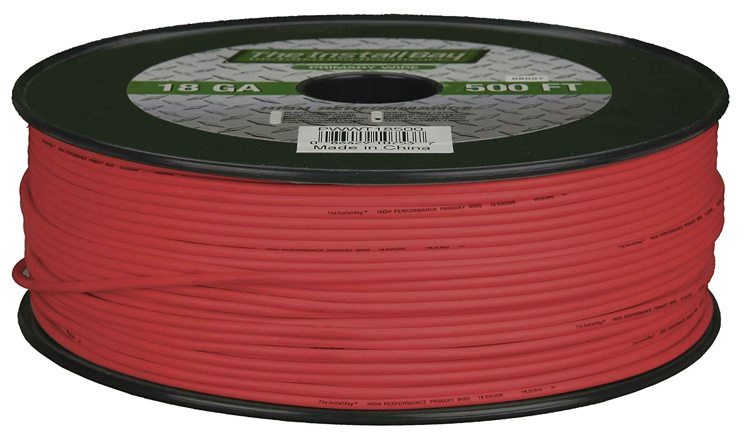 Amazon.com: Metra PWRD18500 18-Gauge Primary Wire (Red): INSTALL BAY: Car  Electronics