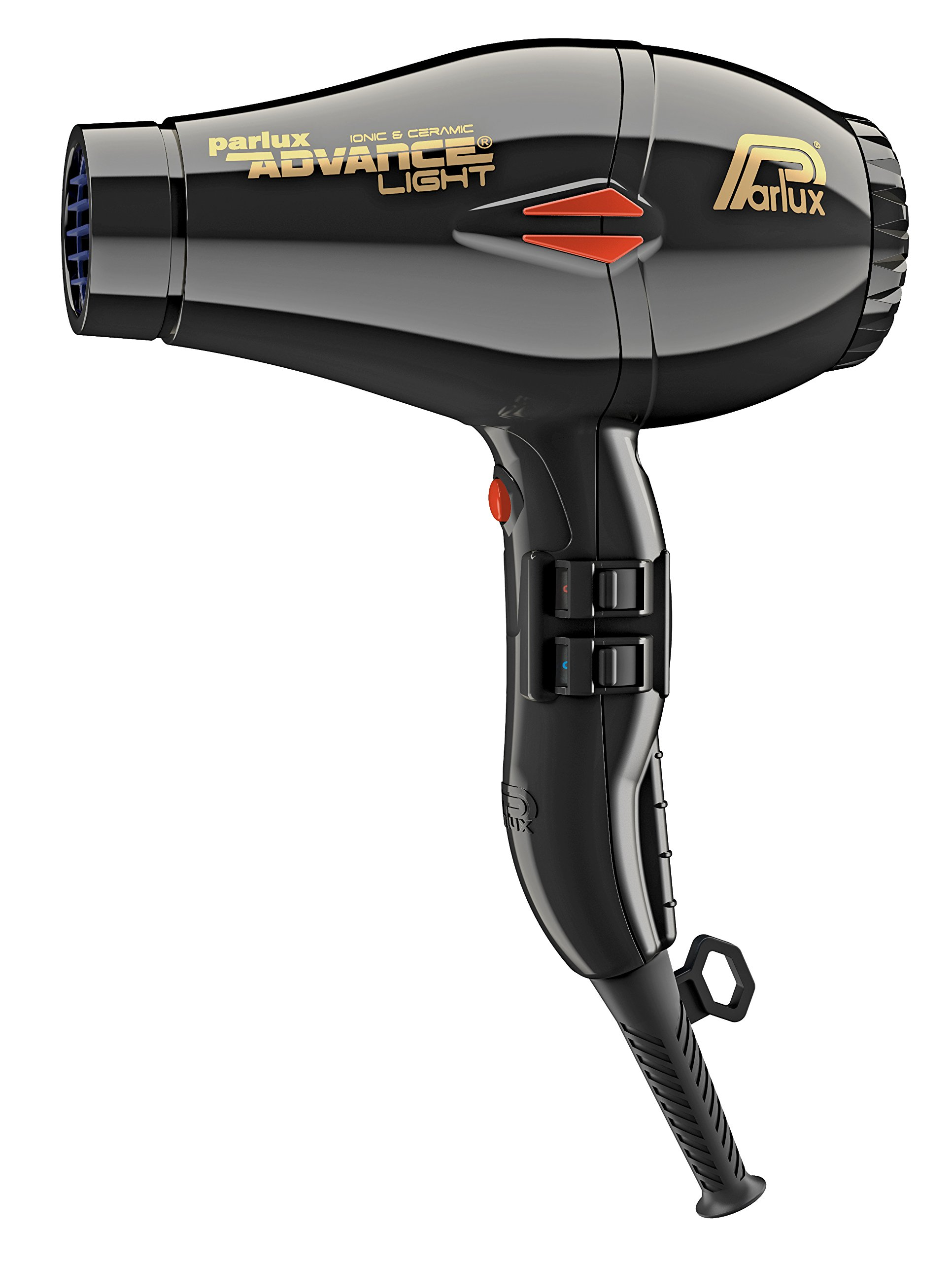 Parlux Advance Light Ionic & Ceramic Hair Dryer, Black