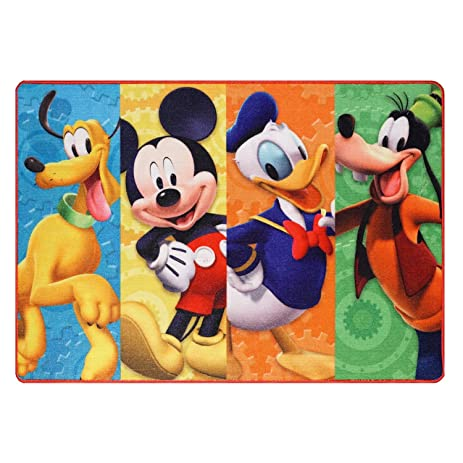 Amazoncom Disney Mickey Mouse Clubhouse Rug HD Digital MMCH Kids